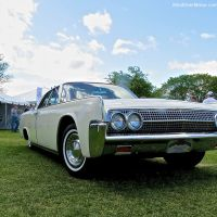 1963 Lincoln Continental Sedan at the Greenwich Concours