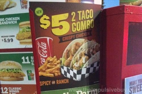 Rally's Crispy Chicken Tacos