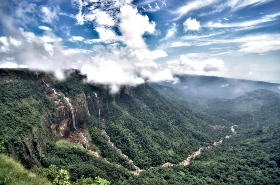 Nohsngithiang Falls, Meghalaya | Post-processing - Darktable… | Flickr