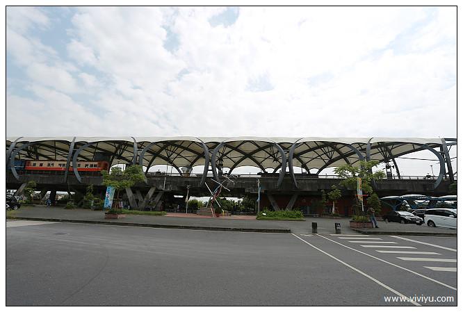 冬山,冬山火車站,冬山車站,宜蘭火車站,旅遊,火車站,高架 @VIVIYU小世界