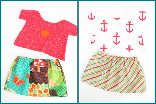 teenie-weenie T-shirts/skirts