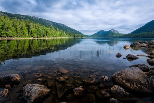 "Jordan Pond and ""The Bubbles"""