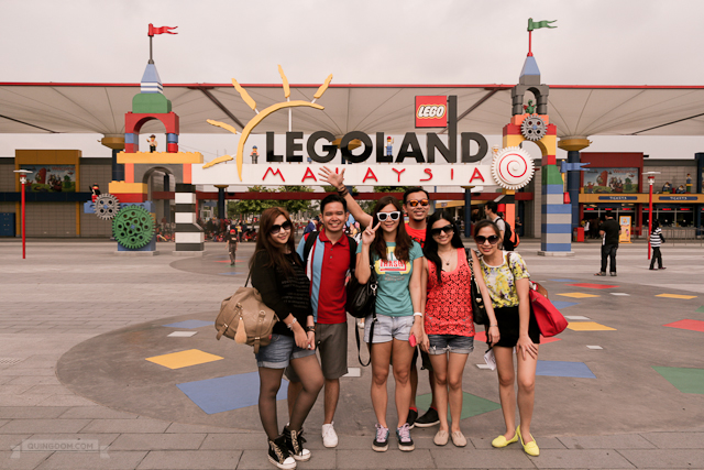 Group photo in LEGO Land, Malaysia