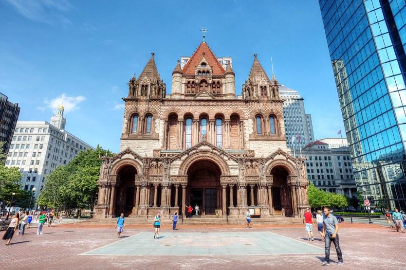 Trinity Church, Copley Square, Boston.