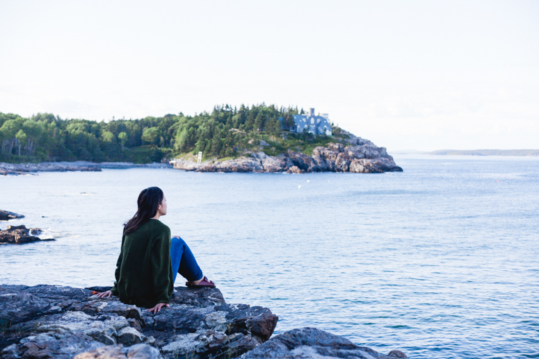 acadia national park | schooner point overlook