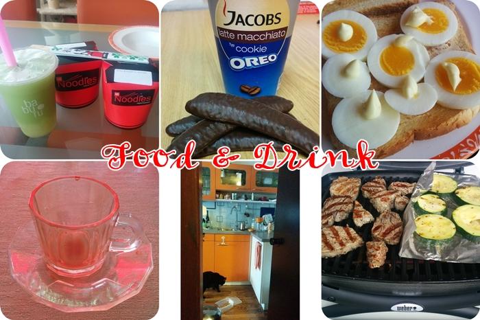 88 noodles | jacobs latte macchiato oreo | toast mit ei | kaffee | selbsbedieneung | grillen