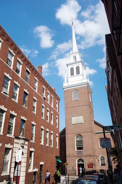 Old North Church, Boston.