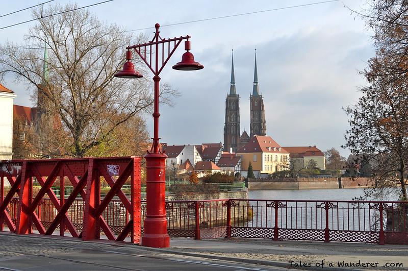 WROCŁAW - Most Piaskowy - Archikatedra św. Jana Chrzciciela