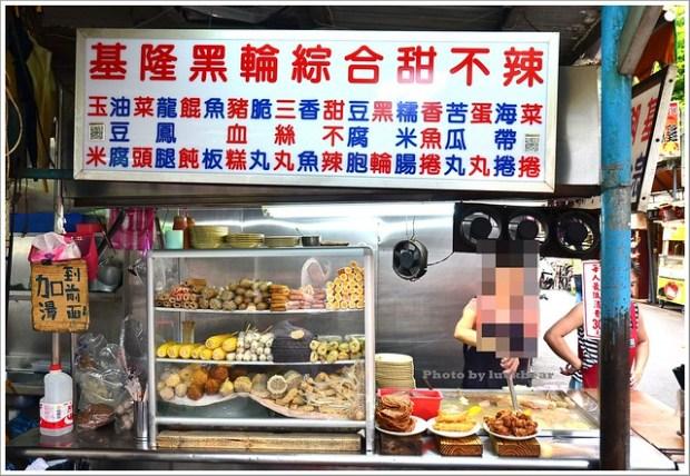 南機場夜市基隆黑輪甜不辣八棟圓仔湯無名推車燒餅004-DSC_0050