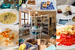 Speisen im Weinwohnzimmer
