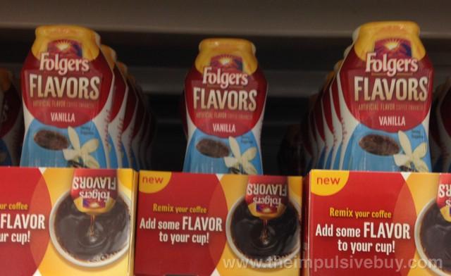 Folgers Flavors Vanilla Coffee Enhancers