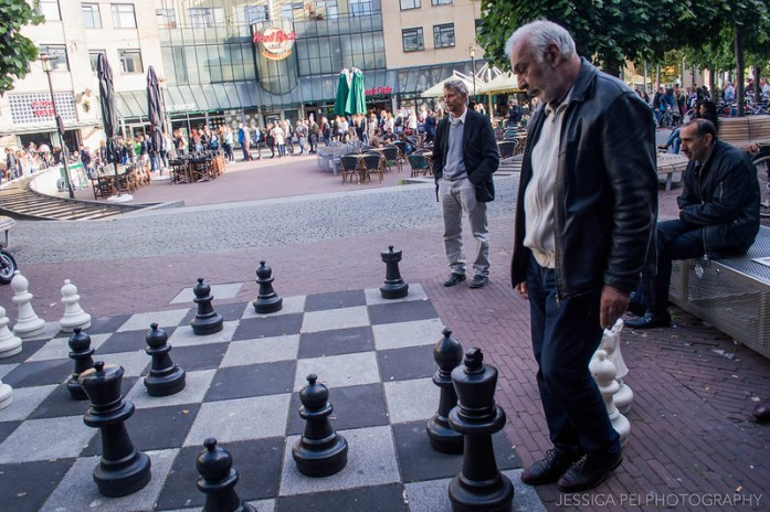 Giant Chess Board Amsterdam