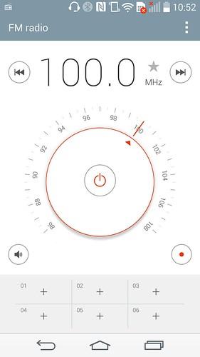 FM Radio ของ LG G3