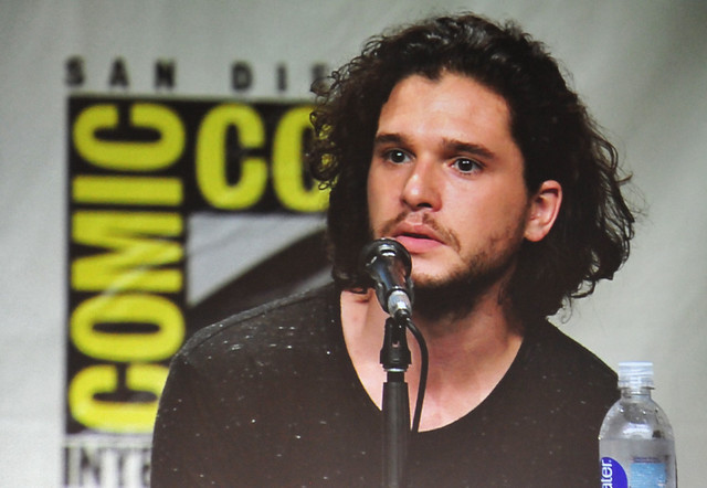 Game of Thrones panel - Kit Harington aka Jon Snow