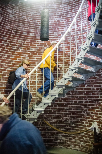 Umpqua Lighthouse Stairs