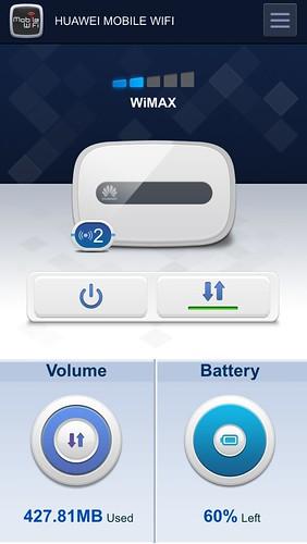 バッテリー60%でも満タンに見えるような感じするけど、どっちが間違ってるのかな。HWD14良くない