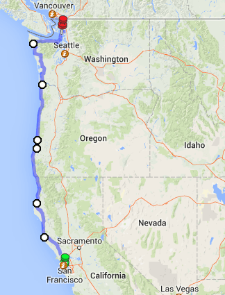 Pacific Northwest Road Trip