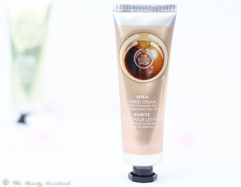 the body shop shea hand cream