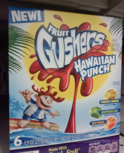 Betty Crocker Fruit Gushers Hawaiian Punch