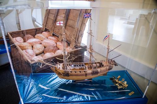 Ship and Bread Box