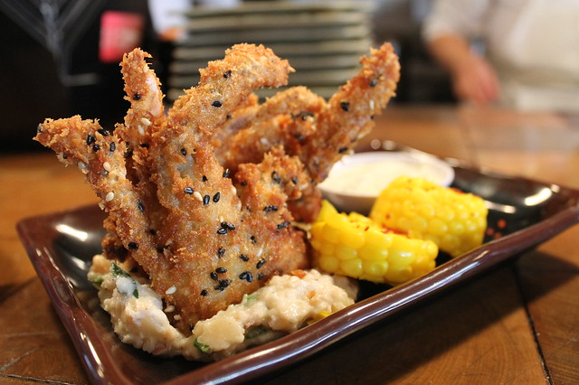 Soft shell crab en 'Myers+Chang'