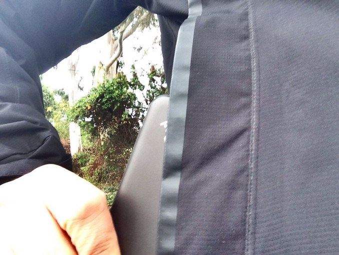 ThinkPad 8 Tablet in a jacket pocket