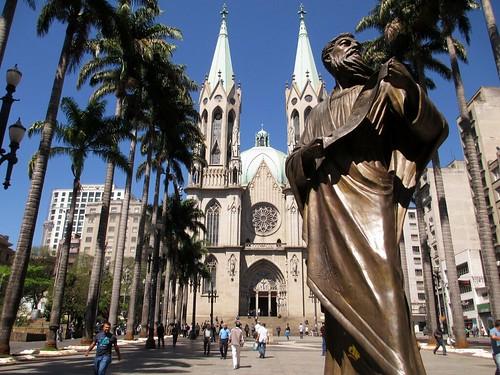 São Paulo Metropolitan Cathedral, São Paulo, Brazil, Sept. 2014.