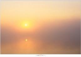 En dan verdwijnt het eiland in de mist
