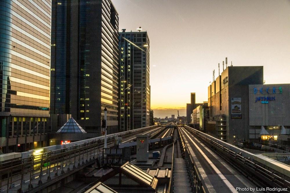 La línea Yurikamome de Tokio-20