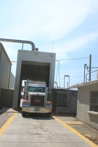 My last load to the ADM elevator in Hutchinson, Kan.