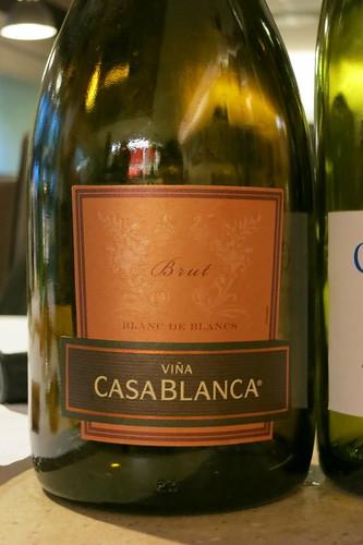 Vina Casablanca Sparkling Brut Blanc de Blanc N.V.