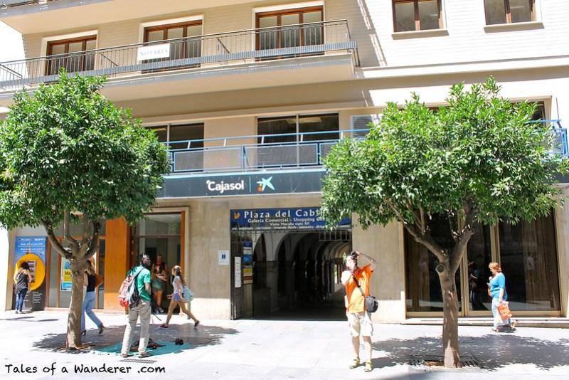 SEVILLA - Avenida de la Constitución / Plaza del Cabildo
