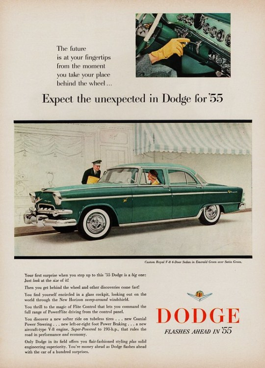 1955 Dodge Custom Royal V-8 4-Door Sedan