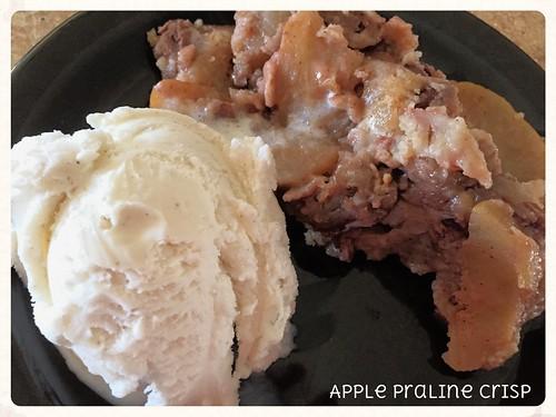 Apple Praline Crisp