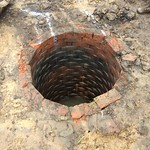 Brick lined Well