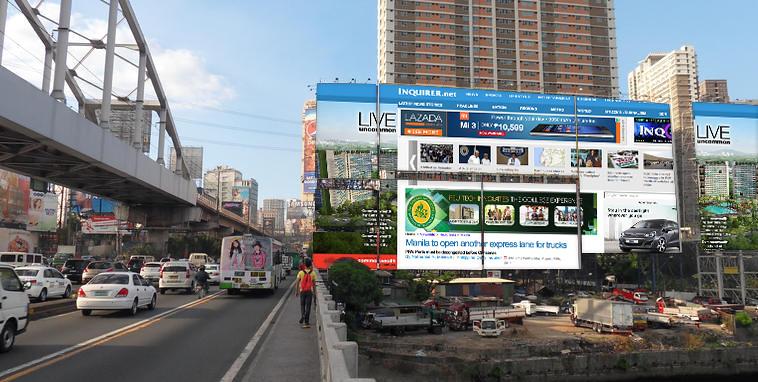 Guadalupe Bridge Website Billboards