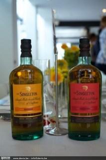 Het etiket van de Singleton Tailfire & Sunray is voorzien van een smaakindicatie en geen jaartal.