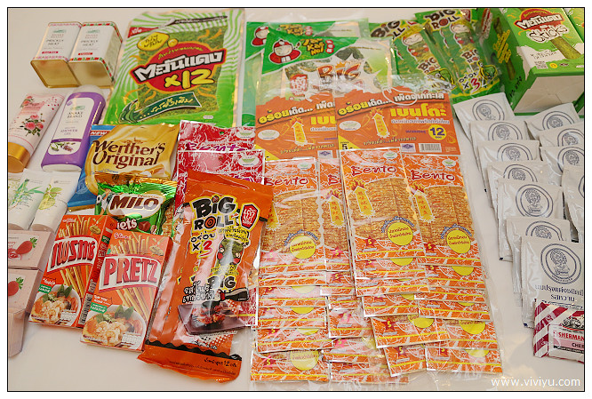 7-11,big C,小老闆,曼谷,泰國,泰國必買,泰國戰利品,泰國購物血拼,海苔,皇室牛奶片 @VIVIYU小世界