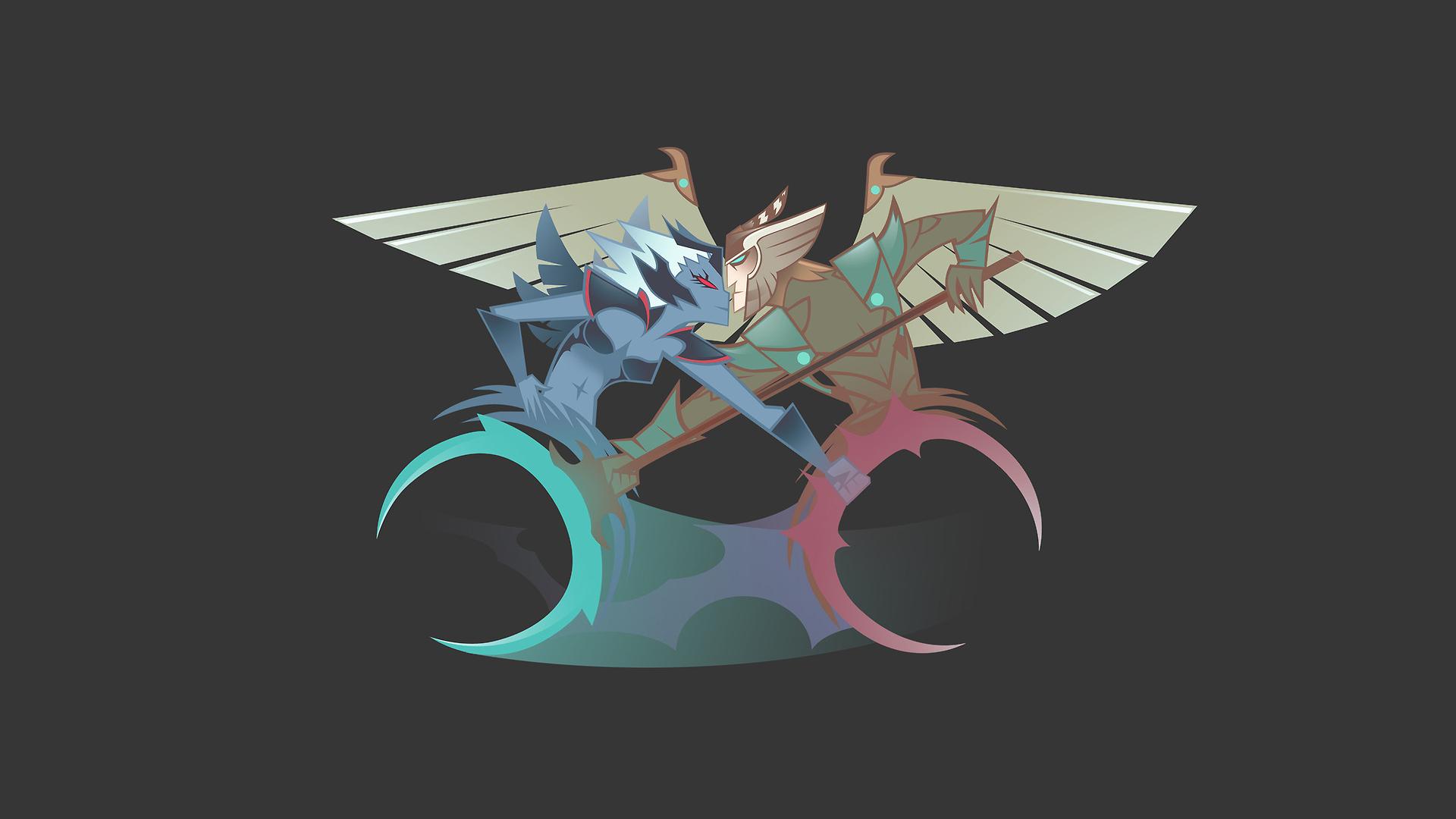 Skywrath Mage And Vengeful Spirit By Loussiry On Tumblr