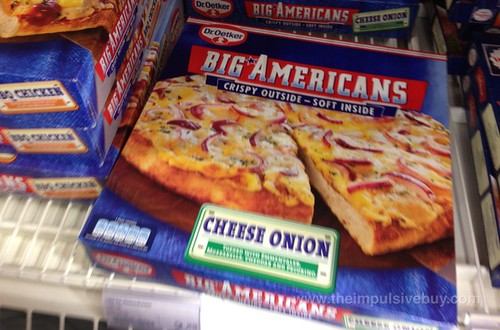 Dr. Oetker Big Americans Cheese Onion Pizza