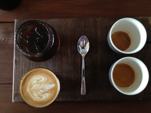 Coffee Tasting Plate - John Smith Cafe, Waterloo