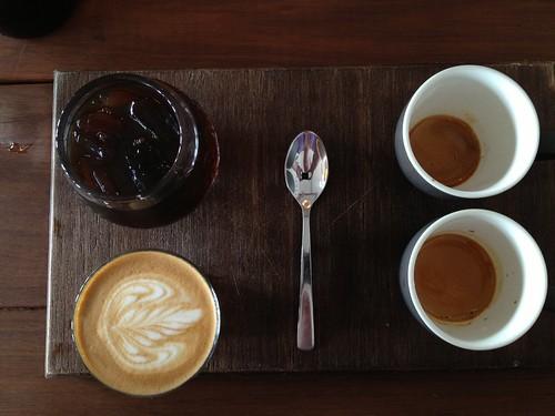 Coffee Tasting Plate - John Smith Cafe, Waterloo
