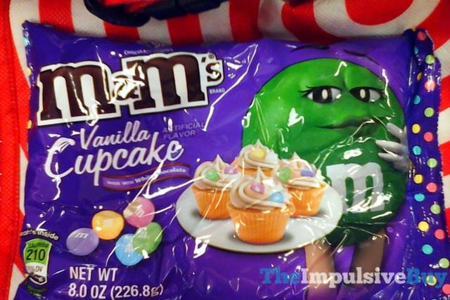 M&M's Vanilla Cupcake