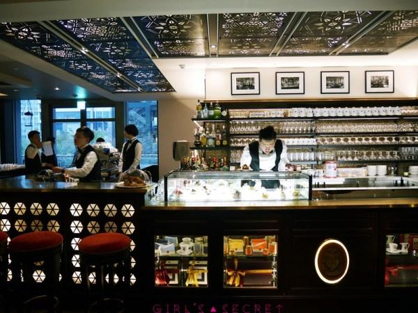 Caffé Florian福里安花神咖啡館 吧台