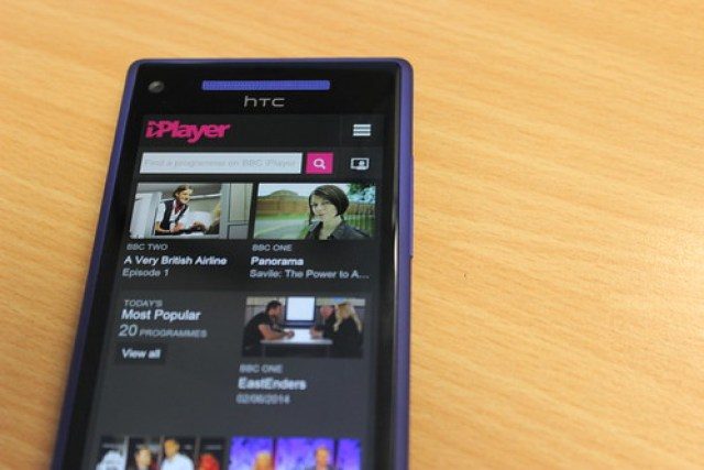 iPlayer on Windows Phone