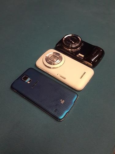 เทียบ Samsung Galaxy S5, Samsung Galaxy K Zoom และ Samsung Galaxy S4 Zoom