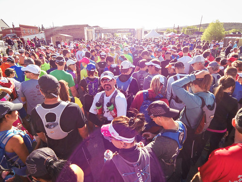 Leadville Trail Marathon start