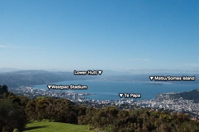 View from Wellington Wind Turbine