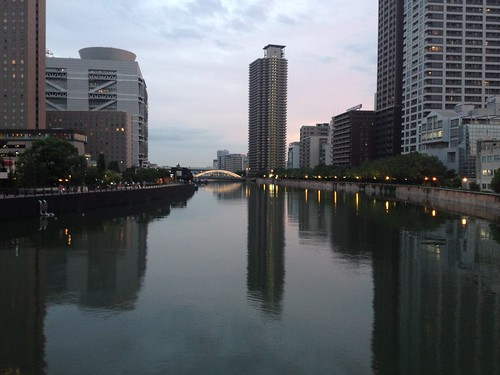 flickr: 大阪北区玉江橋から