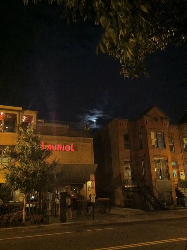 Moon over lauriol